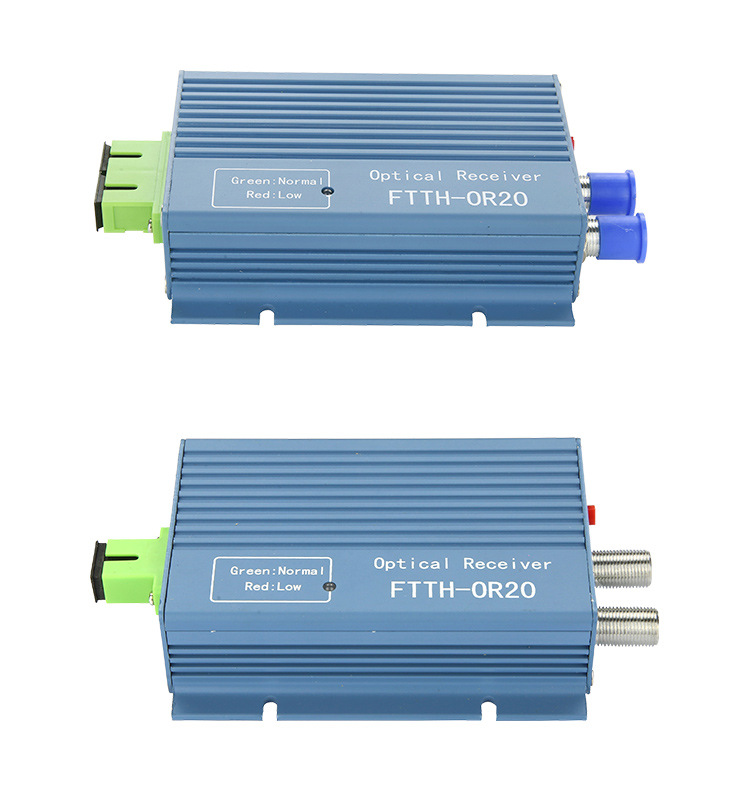 Image 4 - CATV FTTH Receiver AGC Micro SC APC Duplex Connector with 2 output port WDM for PON FTTH OR20 CATV Fiber Optical Receiver-in Fiber Optic Equipments from Cellphones & Telecommunications