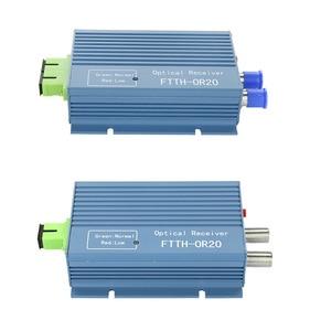 Image 4 - CATV FTTH Receiver AGC Micro SC APC Duplex Connector with 2 output port WDM for PON FTTH OR20 CATV Fiber Optical Receiver