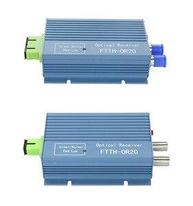 Image 4 - Catv ftth 수신기 agc micro sc apc 듀플렉스 커넥터 (pon ftth or20 catv 광섬유 수신기 용 2 출력 포트 wdm 포함)