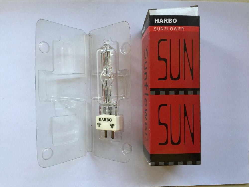 4xLot Free shipping Stage Lighting Lamps MSD 250/2 MSD250W MSR Bulb NSD250W NSK 250/2 Metal Halide Lamp Moving Head Lights Bulbs