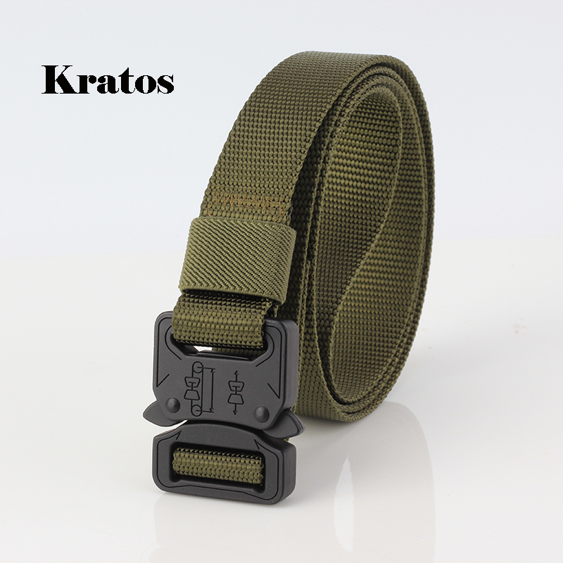 Military Equipment Paintball Men Concave Convex Texture SWAT Army Heavy Duty US Soldier Combat Tactical Belts Nylon Waistband