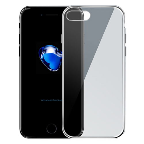 Cellphone Case + Phone screen protection film Transparent for iPhone ...