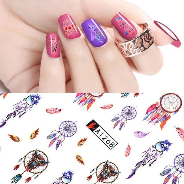 Tomtosh 12 Nail Design Sticker Set Windmolen Virtual Image Template