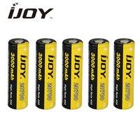 Original IJOY 20700 3000mAh High Drain Rechargeable Battery 40A 20700 Battery Long Life High Energy Density