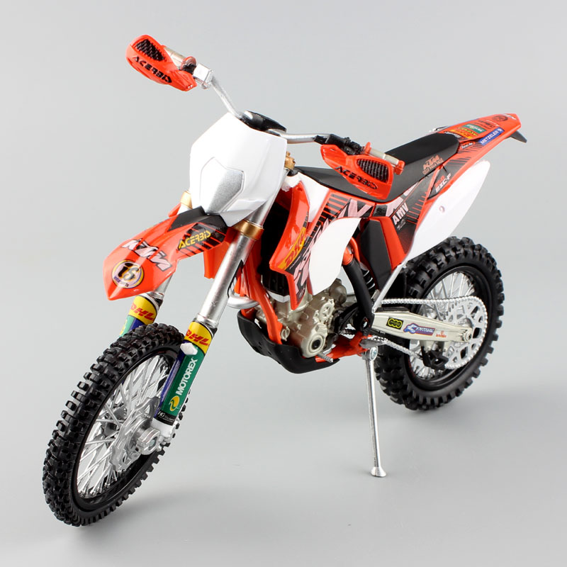 1 12 scale Automaxx mini KTM 350 EXC F AMV DHL Motorcycle Diecast Model Motocross enduro motor dirt bike toys vehicle car kid's-in Diecasts & Toy Vehicles from Toys & Hobbies