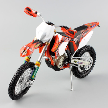 1 12 Scale Automaxx Mini KTM 350 EXC-F AMV DHL Motorcycle Diecast Model Motocross Enduro Motor Dirt Bike Toys Vehicle Car Kid's