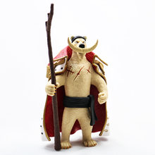 Anime One Piece Edward Newgate como Urso Polar Animal PVC Modelo Figura Toys 14 cm(China)