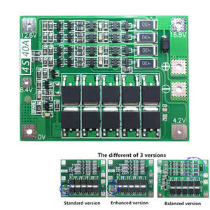 Protection-Board-Pcb BMS 4s 40a 18650 for Drill-Motor Lipo Cell-Module Li-Ion-Battery-Charger