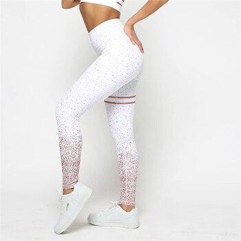 Starry sky Gradient leggings fitness feminina women's leggins sexy legging modis legins high waist workout gyms push up seamless