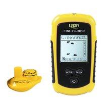 LUCKY FFW1108 1 Wireless Fish Finder Sonar Fishfinder 40m Depth Range Ocean Lake Sea Fishing