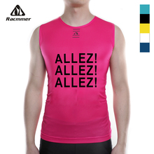 Racmmer 2018 Bike Cool Mesh Fitness Cycle Cycling Base Layers Bicycle Sleeveless Shirt Sport Breathbale Underwear Ciclismo