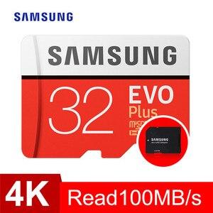 Image 5 - بطاقة ذاكرة سامسونج مايكرو sd 32GB 64GB 128GB 256GB 512GB EVO Plus Class10 مقاوم للماء TF ميموري بطاقة Sim للهواتف الذكية