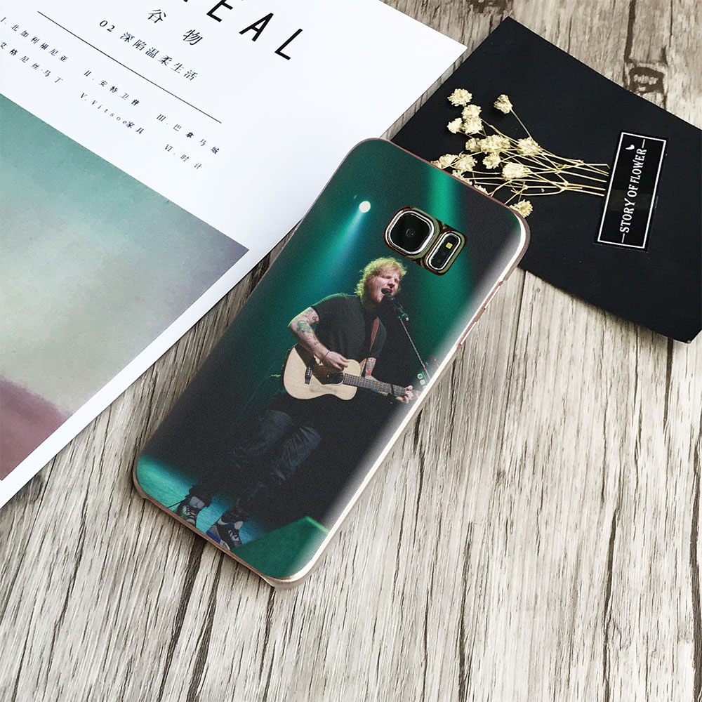 Ed Sheeran Teddy Singer Phone Case Cover Shell For Samsung Galaxy S4 S5 S6 S7 Edge S8 Plus Note 8 2 3 4 5 A5 A7 J5 2016 J7 2017