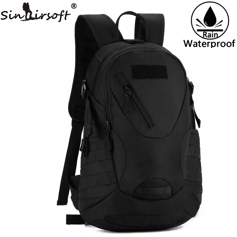 SINAIRSOFT Outdoor Camouflage Hunting Nylon Backpack Bags Waterproof Tactical Travel 20L Backpacks Bag sinairsoft sport waterproof 3d military tactics backpack rucksack 20l for hike trek camouflage mochila travel outdoor bagsly0049