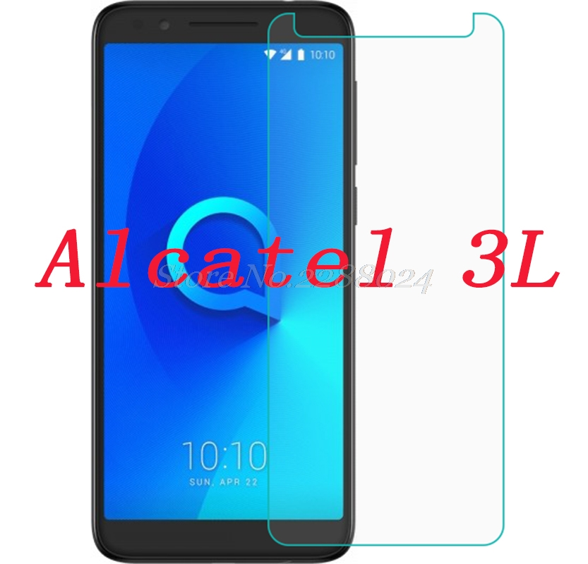 2PCS Tempered Glass For Alcatel 3L 5034D 5.5