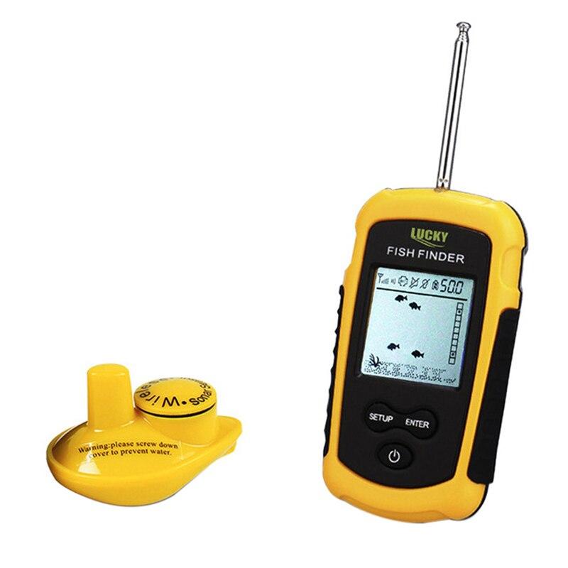 Outdoor Portable 40m Depth Range FFW1108-1 Wireless Fish Finder Fishfinder Ocean Lake Sea FishingOutdoor Portable 40m Depth Range FFW1108-1 Wireless Fish Finder Fishfinder Ocean Lake Sea Fishing