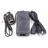 Newest Arrival 12V 5A Car Cigarette Lighter Power AC Converter Adapter For Air Pump Vacuum Cleaner