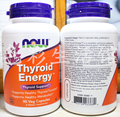 NOW Thyroid Energy Thyroid spport 90 Veg Capsules