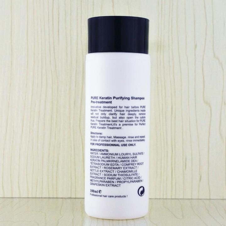 purifying shampoo straighten hair