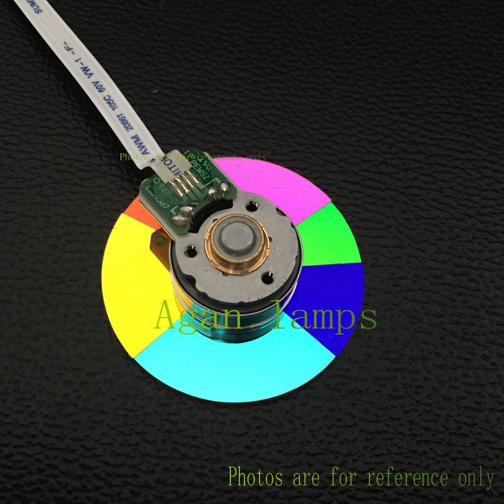 100% NEW Original Projector Color Wheel for Optoma DT2401 wheel color-agan lamps original projector color wheel for optoma ex540i