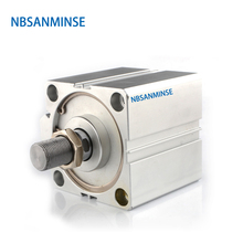 NBSANMINSE SDA Without Magnet 20mm Bore Compact Cylinder AirTAC Type Double Acting Actuator Pneumatic Parts