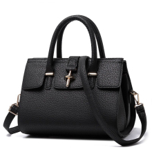 NEW Women PU Leather Elegant Shoulder Bag Fashion Litchi Stria Leather Ladies Hand Bag Female Designer Top Quality Handbag