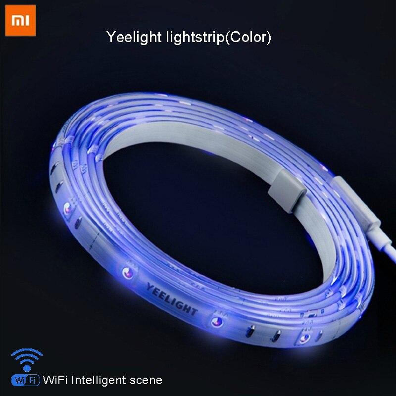 Умный домашний телефон приложение wifi световая полоса красочный ягненок светодио дный 2 м 16 миллионов 60 светодио дный LED аутентичный Xiaomi Yeelight...