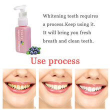 NEW Stain Remover Whitening Toothpaste Anti Bleeding Gums Press Type Fresh