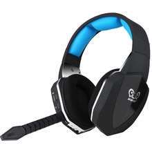 Купить с кэшбэком Fiber-optical Wireless 2.4ghz Stereo Gaming Headsets Over-ear Headphones for PS3,PS4,XBOX ONE Noise Reduction gaming headphones