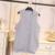 Medio-largo femenino suéter suéter sin mangas del chaleco de color sólido chaleco chaleco de hilo trenzado r6218