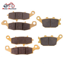 цены 6pcs Motorcycle Front Rear Brake Disk For KAWASAKI KLV 1000 FOR SUZUKI SV 400 DL/SV/GSF 650 GSR 750 DL 1000 Brake Pads 03-13