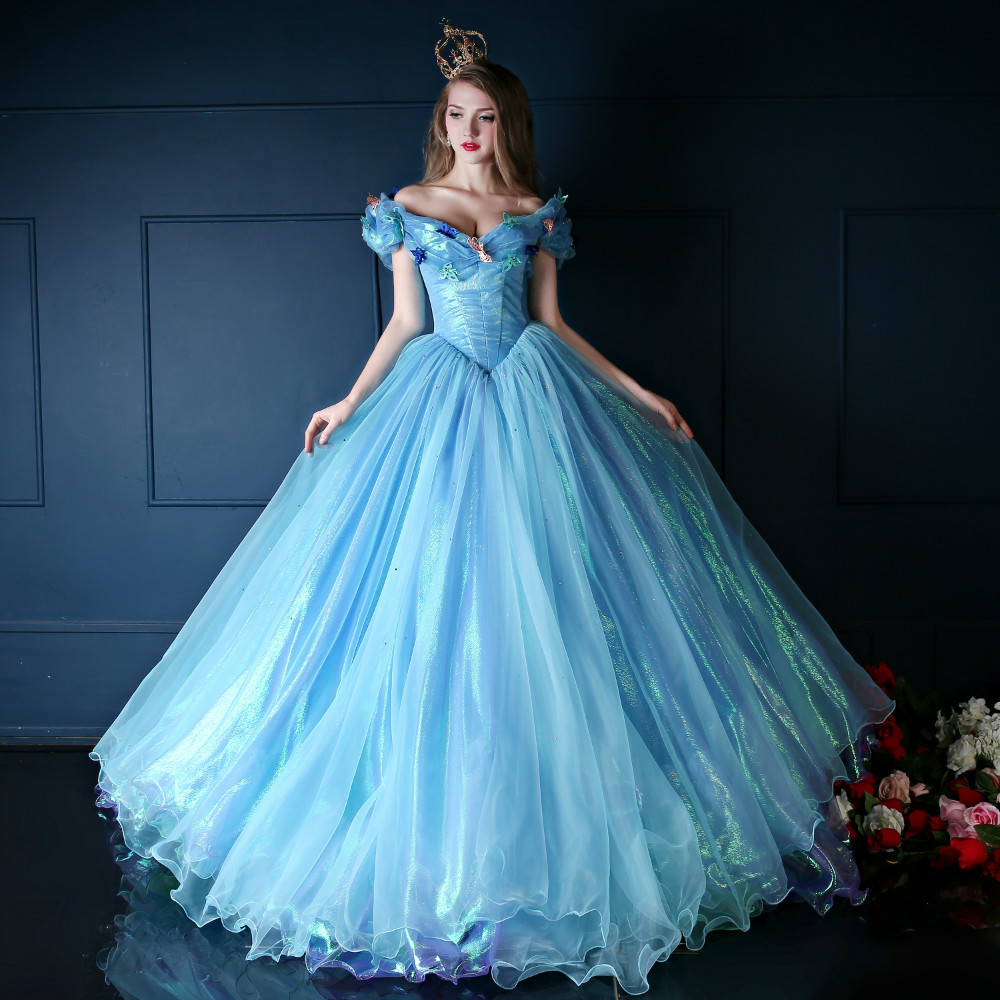 Princess Cinderella Wedding Dress Costume For: Wedding Dresses Cinderella The New 2015 Chapel Wedding