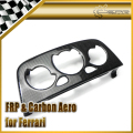 Car-styling For Ferrari F430 Carbon Fiber Air Condition Panel Replacement LHD