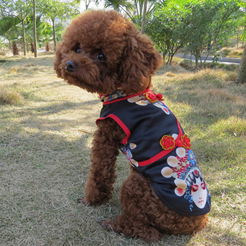 101501fd4f71b PETAMOR Summer Dog Dress For Dogs Clothes Cheongsam Pet Cat Dress Tulle Dog  Dresses For Small Medium Dogs Chihuahua Yorkshire