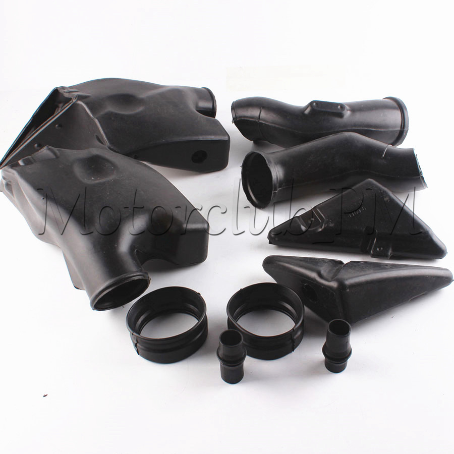 ABS Plastic New Motorcycle Ram Air Intake Tube Duct For Honda CBR600RR 2005 2006 F5 2005 High Quality Black new motorcycle ram air intake tube duct for suzuki hayabusa gsxr1300 1997 2007 abs plastic black high quality