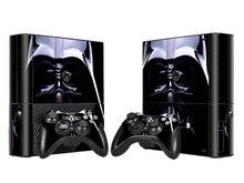 Star Wars Diseño Vinilo Adhesivo Protector de La Piel para Xbox 360E para Microsoft Xbox 360E con 2 unids Controladores Skins Pegatinas
