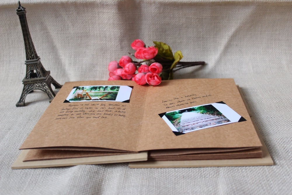 Gut bekannt diy photo album Picture - More Detailed Picture about Hand Made  TJ06