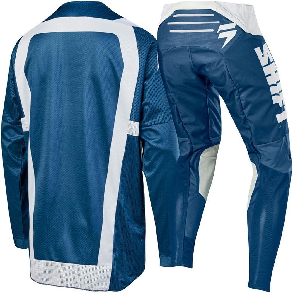 Image 2 - 2019 NEW MX 3LACK Mainline Blue Jersey Pants Adult Motocross Gear Set Jersey+Pants Racing Gear Combination-in Combinations from Automobiles & Motorcycles