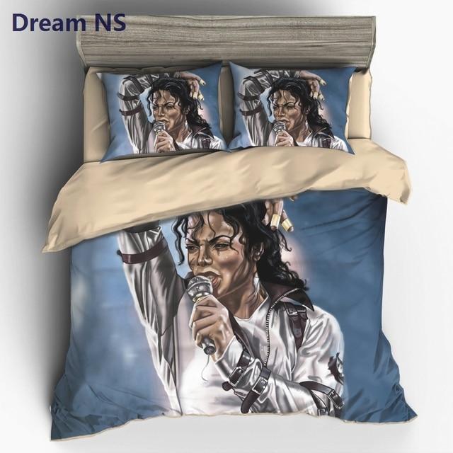 Traum Ns Neue Ankunft Michael Jackson Bettbezug Berühmte Promi