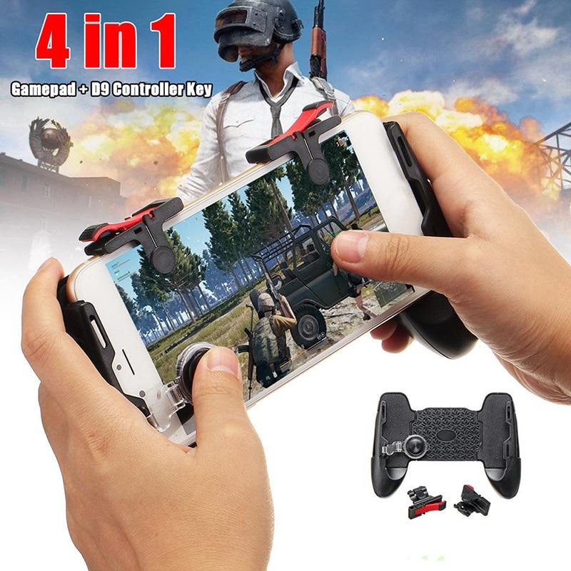 1 Pc Hot 4in1 Mobiele Game Gamepad Joystick Controller Trigger Shooter Sleutel Voor Pubg Kortingen Prijs