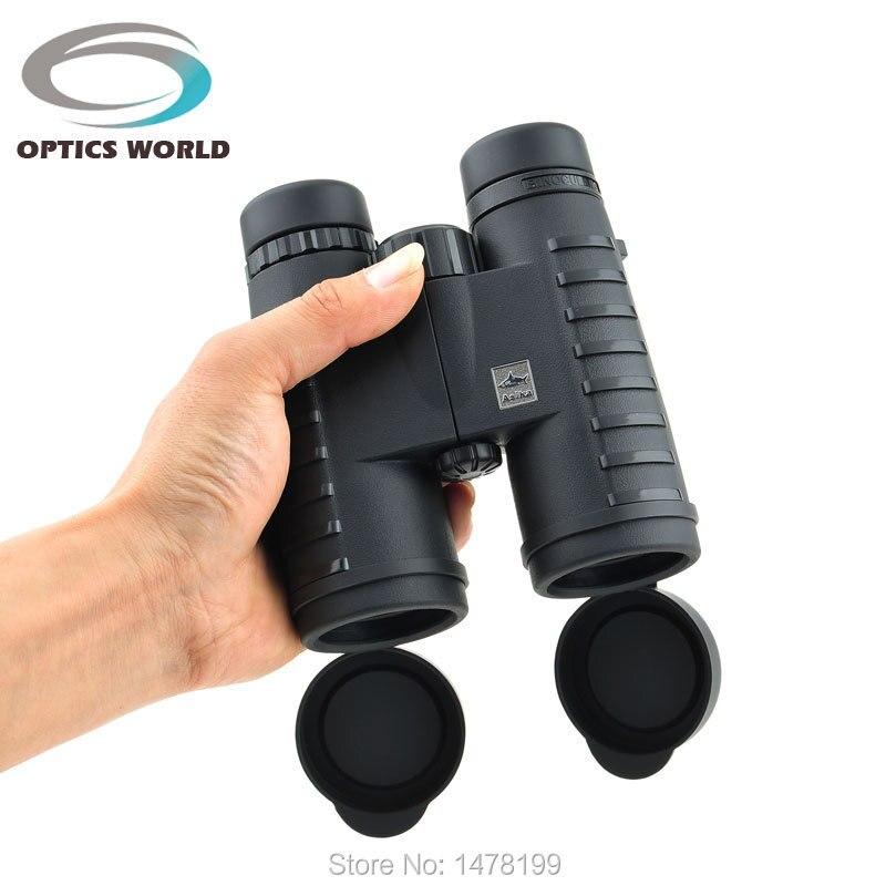 Цена за Asika 10x42 Бинокль водонепроницаемый ночного видения telescopio binoculo HD BAK4 призма бинокулярный 2015 Новый телескоп азота