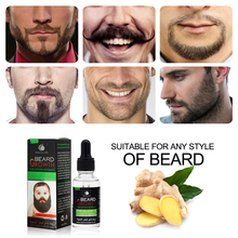 Natural Organic Face Beard Oil 30ml Hair Growth Nourishing H