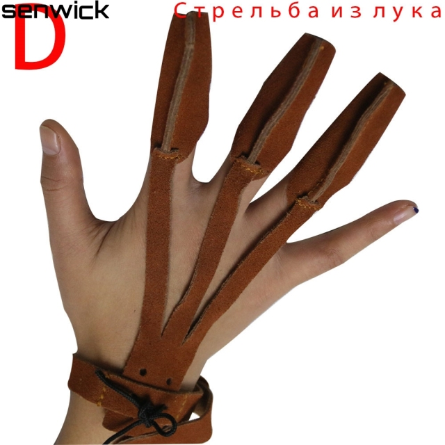 Darts Guard Leather Hand Archery Arrow Bow Hunting Shooting Protective Finger Protector Guard Fingers Protect Glove-in Darts from Sports & Entertainment on Aliexpress.com | Alibaba Group