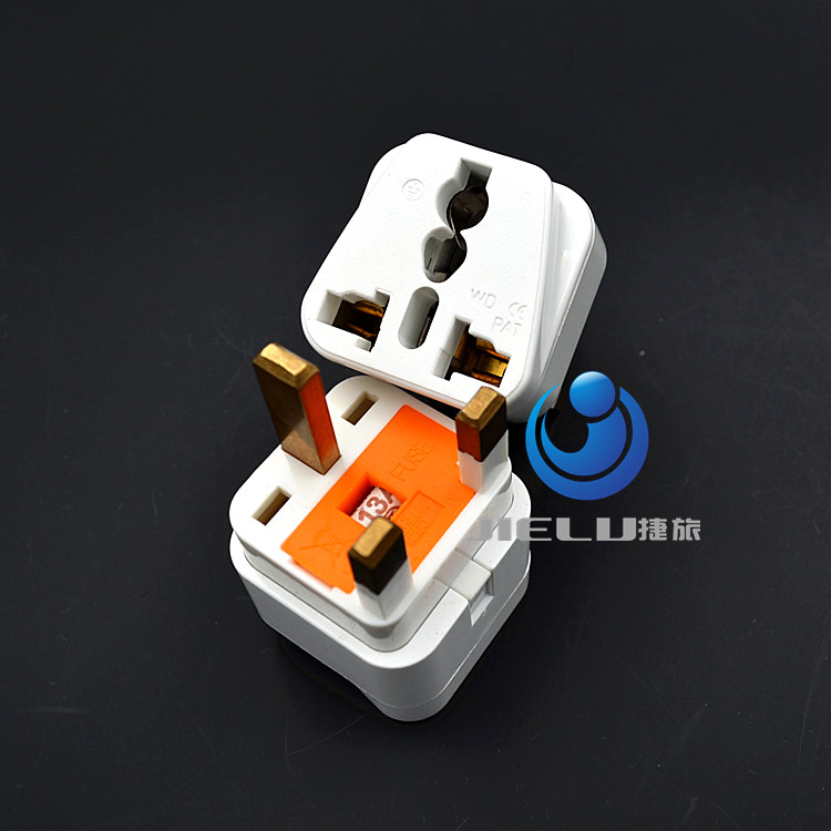 Type E/F Travel Trip Adapter Adaptor Plug for France Germany Russia Grounded Belgium, Slovakia and Tunisia among others