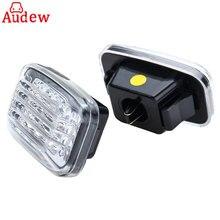 2 шт. автомобиля боковой габаритный фонарь светодио дный светодиодный указатель поворота для Toyota Land Cruiser 70 80 100 серии Amber