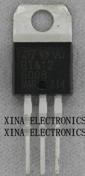 5PCS BTA12-600B BTA12 TRIAC 600V 12A TO-220AB NEW