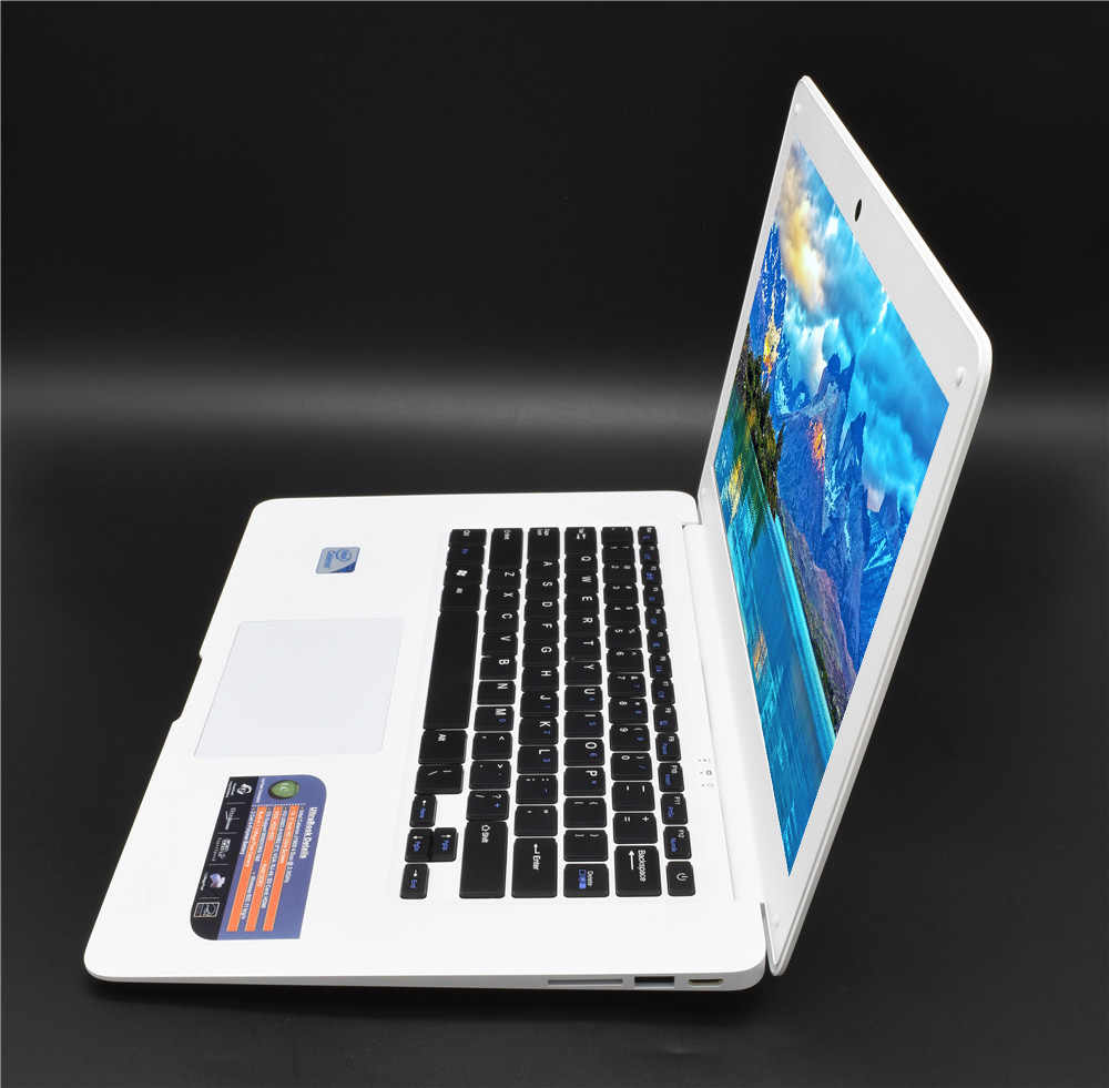 Laptop PC 8GB RAM G SSD + 750G HD Ultrabook Windows 10 atau 7 Komputer Cpu Cepat intel 4 Core Azert Bahasa Jerman Spanyol Keyboard Rusia
