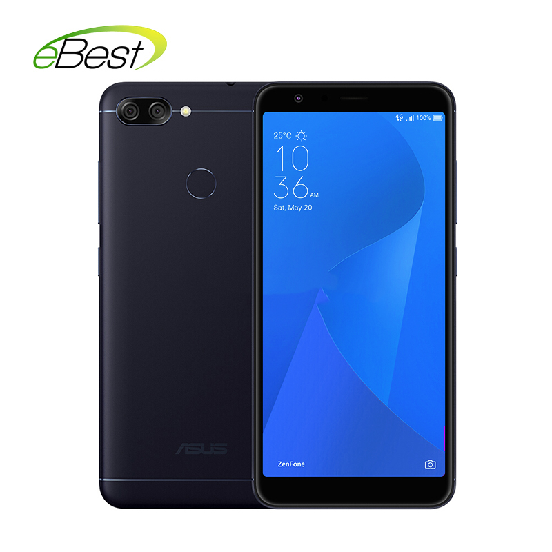 Asus Zenfone 4S Max Plus M1 Smartphone Android 7.0 18:9  5.7 inch 4G+32G MT6750 Octa Core Three Camera 4130mAh Mobile Phone smartphone