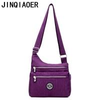 Women Messenger Bag Nylon Women Bags Shoulder Crossbody Bags Fashion Ladies Handbags School Bags Sac A