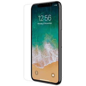 Image 2 - Tempered Glass for iPhone XS Max Screen Protector for iphone 11 Pro Max Nilkin Amazing H&H+Pro Clear Glass Film for iPhone XR XS